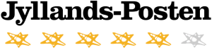 Fem stjerner i Jyllands-Posten